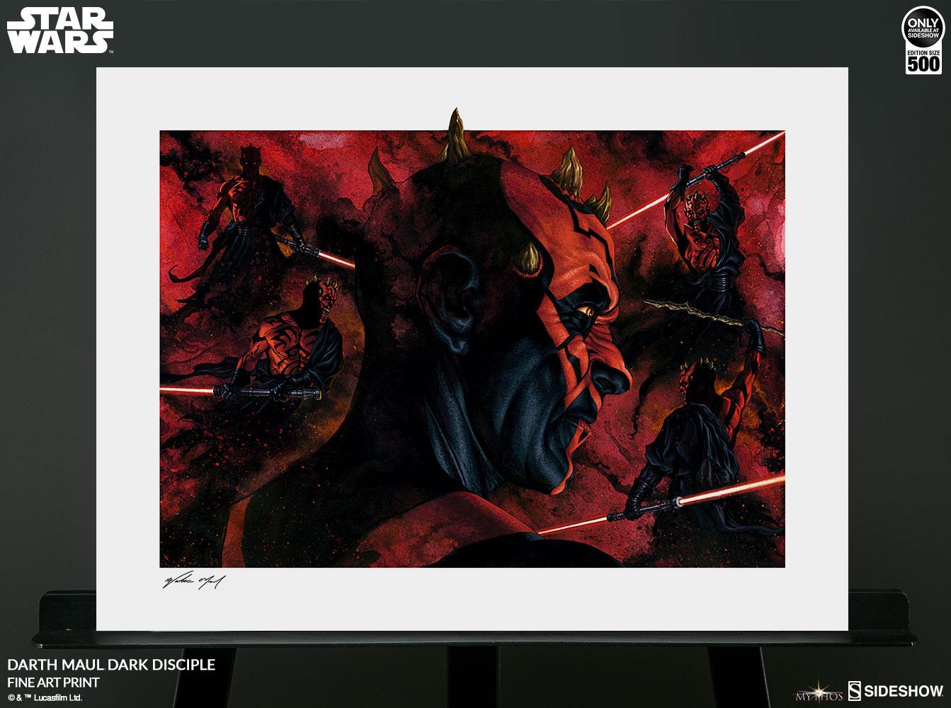 Sideshow Darth Maul Art Print 4