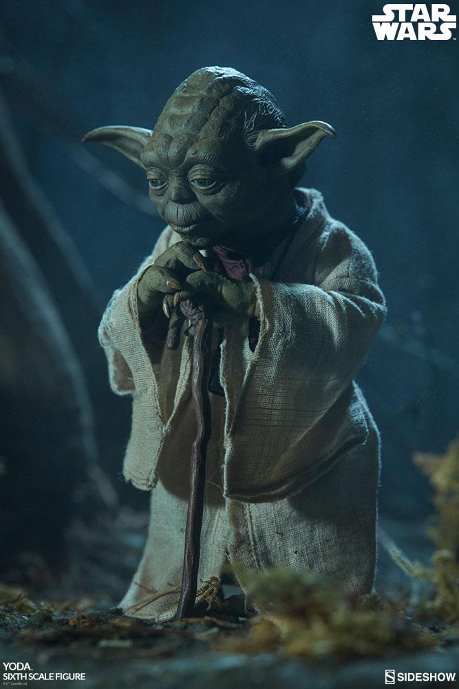 Sideshow Sixthscale Yoda 1