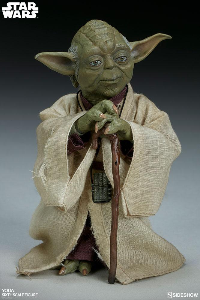 Sideshow Sixthscale Yoda 3