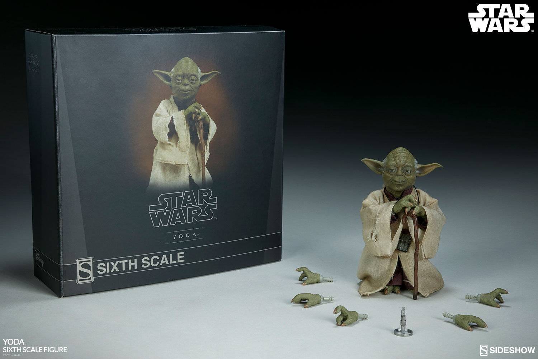 Sideshow Sixthscale Yoda 7