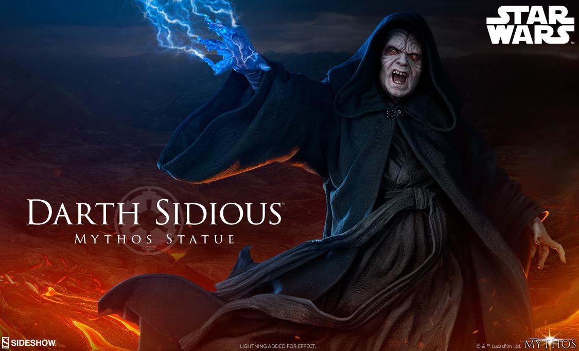 Sideshow Darth Sidious Mythos