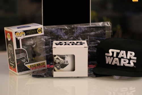 Wootbox 100% Star Wars contenu complet