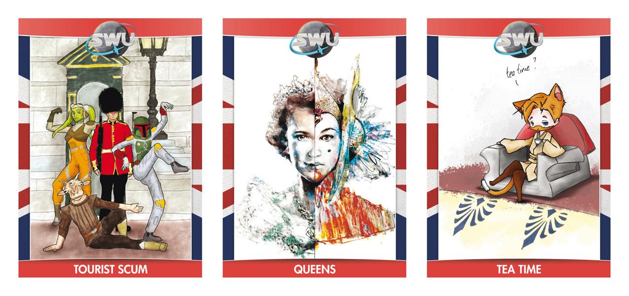 Cartes SWU Celebration Europe 2016