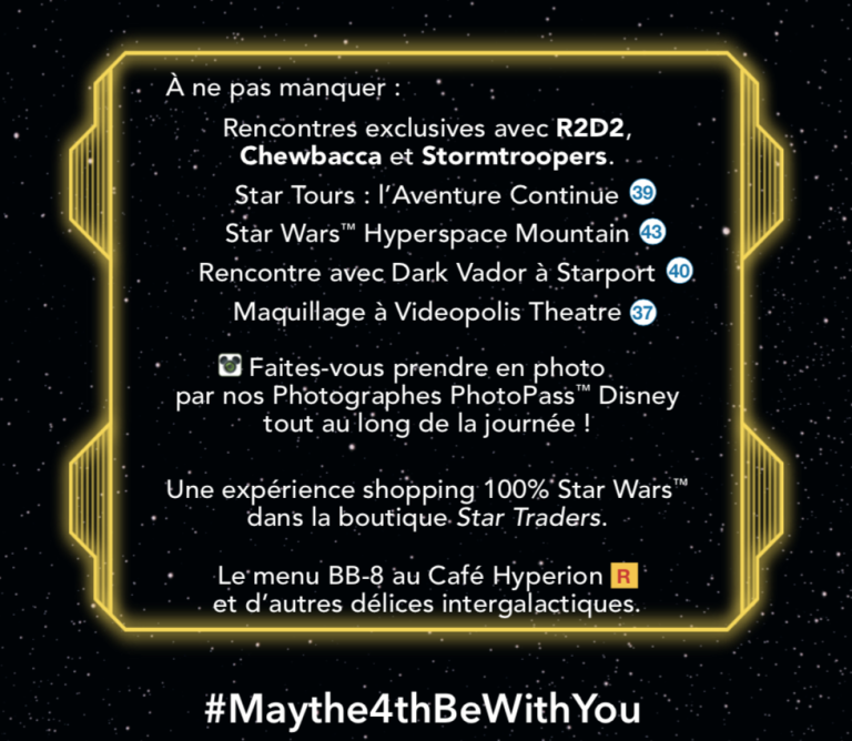 May The 4th Be With You Disneyland 2019