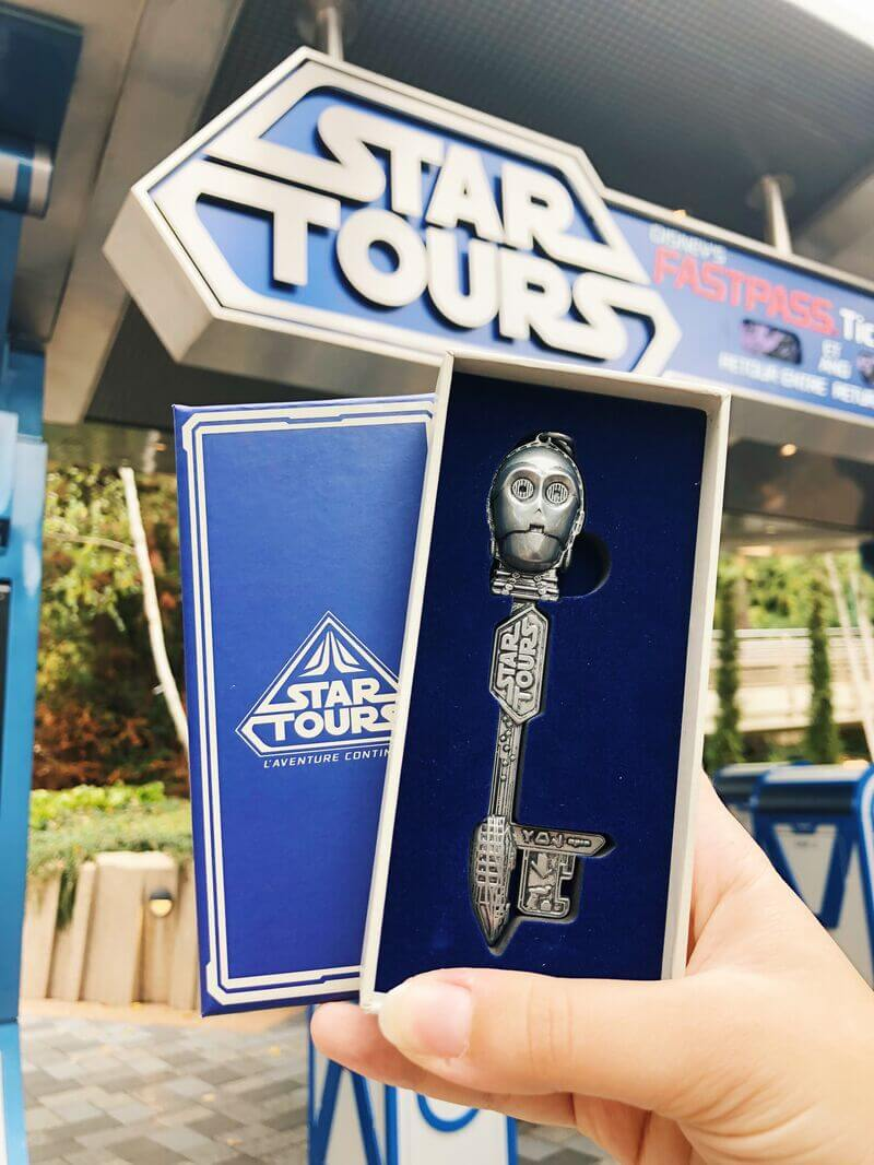 Clé Star Tours Disneyland Paris