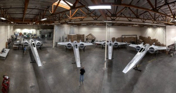 X-Wings Standing By