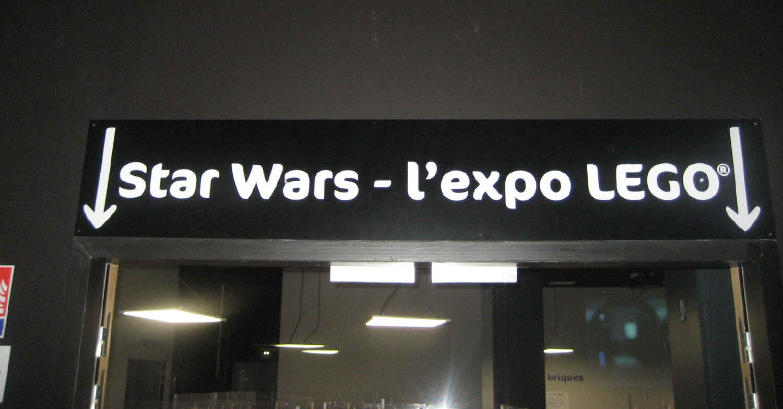 Entrée de l'expo
