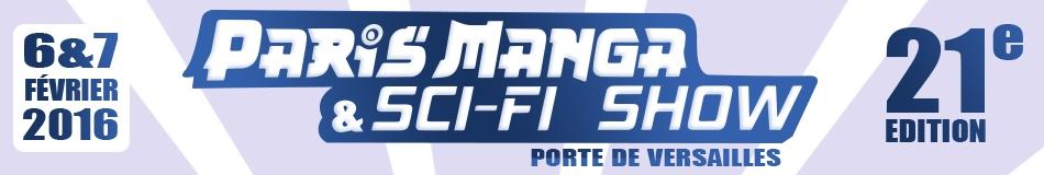 Bannière Paris Manga Sci-Fi