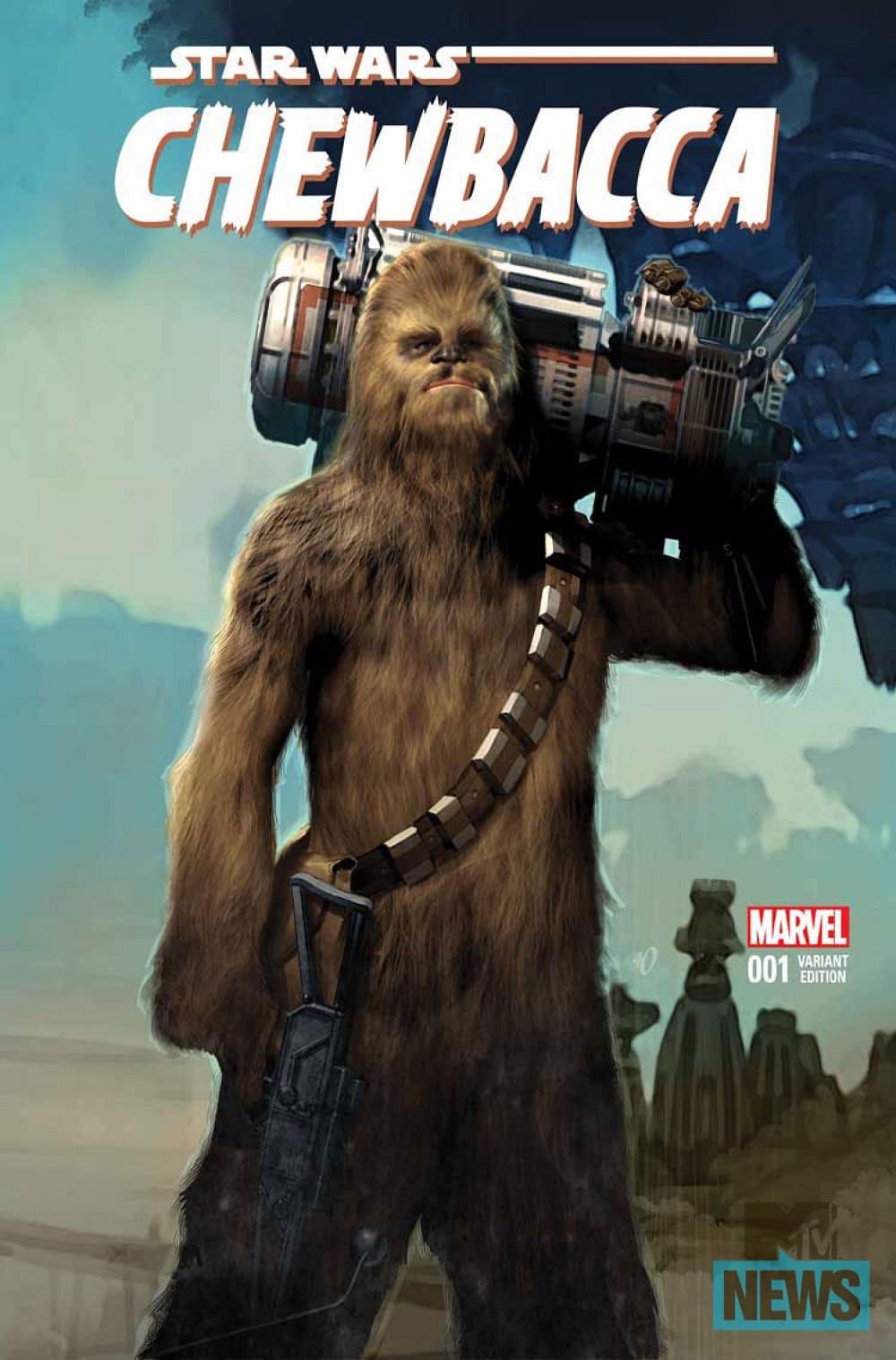 Chewbacca comics