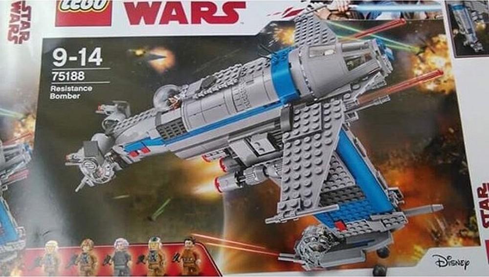 Les derniers jedi une fuite de sets lego d voile le - Croiseur star wars lego ...