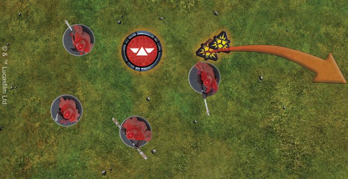 Avec leur capacité Disciplined 2, les Royal Guards enlèvent deux jetons de suppression quand ils reçoivent un ordre!