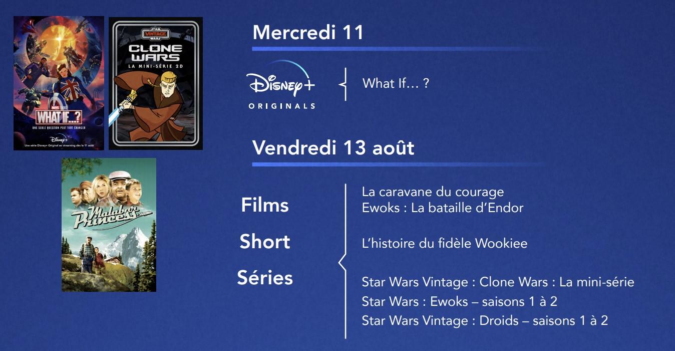 Star Wars Vintage sur Disney+