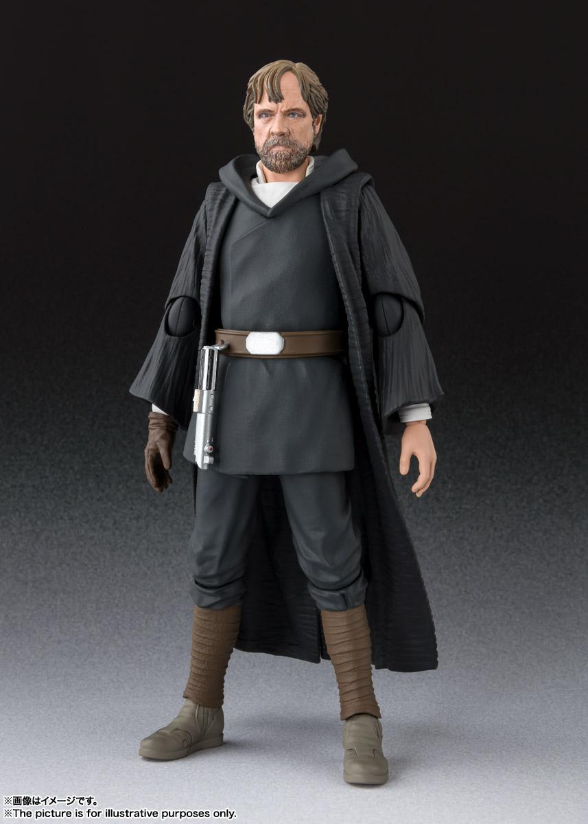 Tamashii Nations <a href='/personnage-190-luke-skywalker.html' class='qtip_motcle' tt_type='personnage' tt_id=190>Luke Skywalker</a> Crait