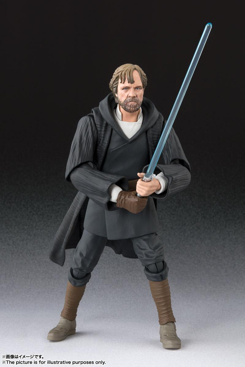 Tamashii Nations Luke Skywalker Crait