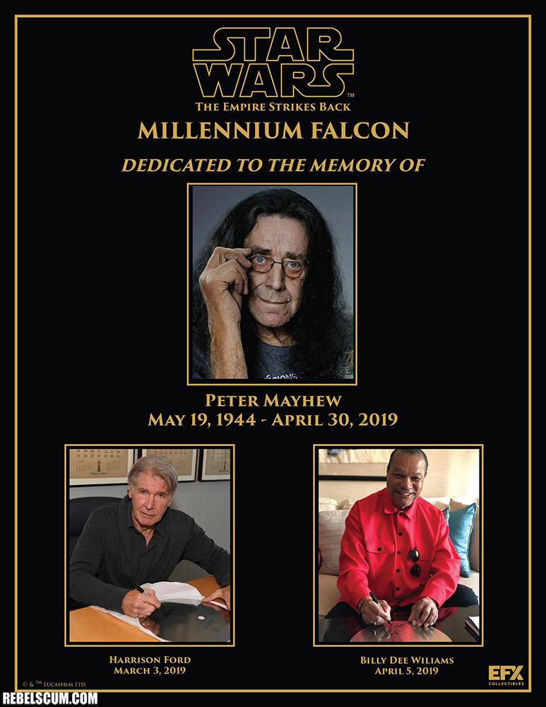 EFX Millenium Falcon Signature