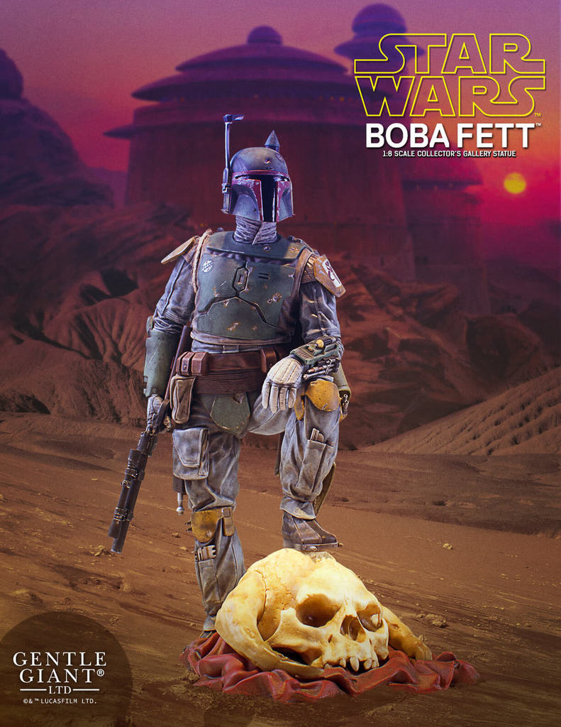 Gentle Giant Boba Fett Collector's Gallery 1