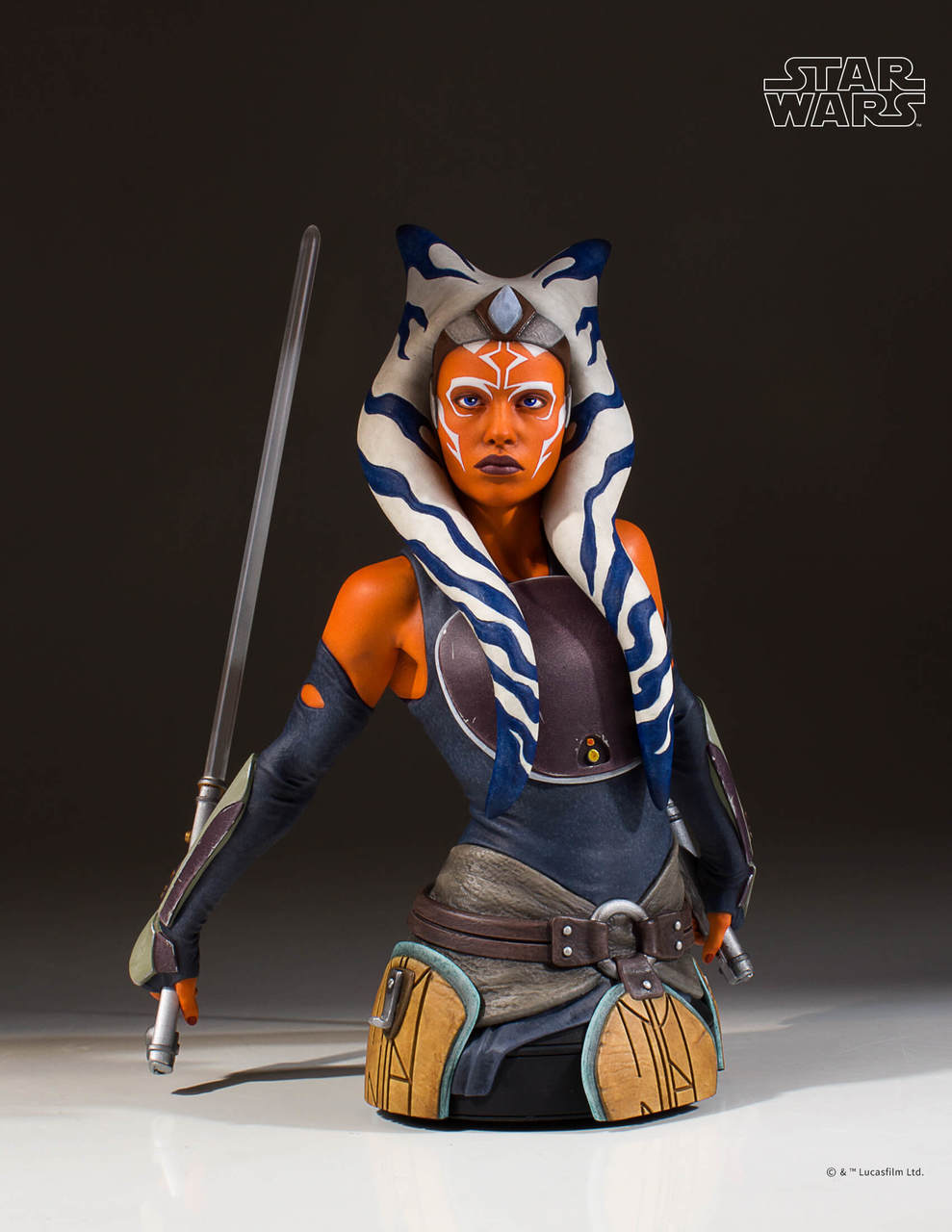 Gentle Giant <a href='/livre-1442-ahsoka.html' class='qtip_motcle' tt_type='livre' tt_id=1442>Ahsoka</a> Tano Mini Bust 2