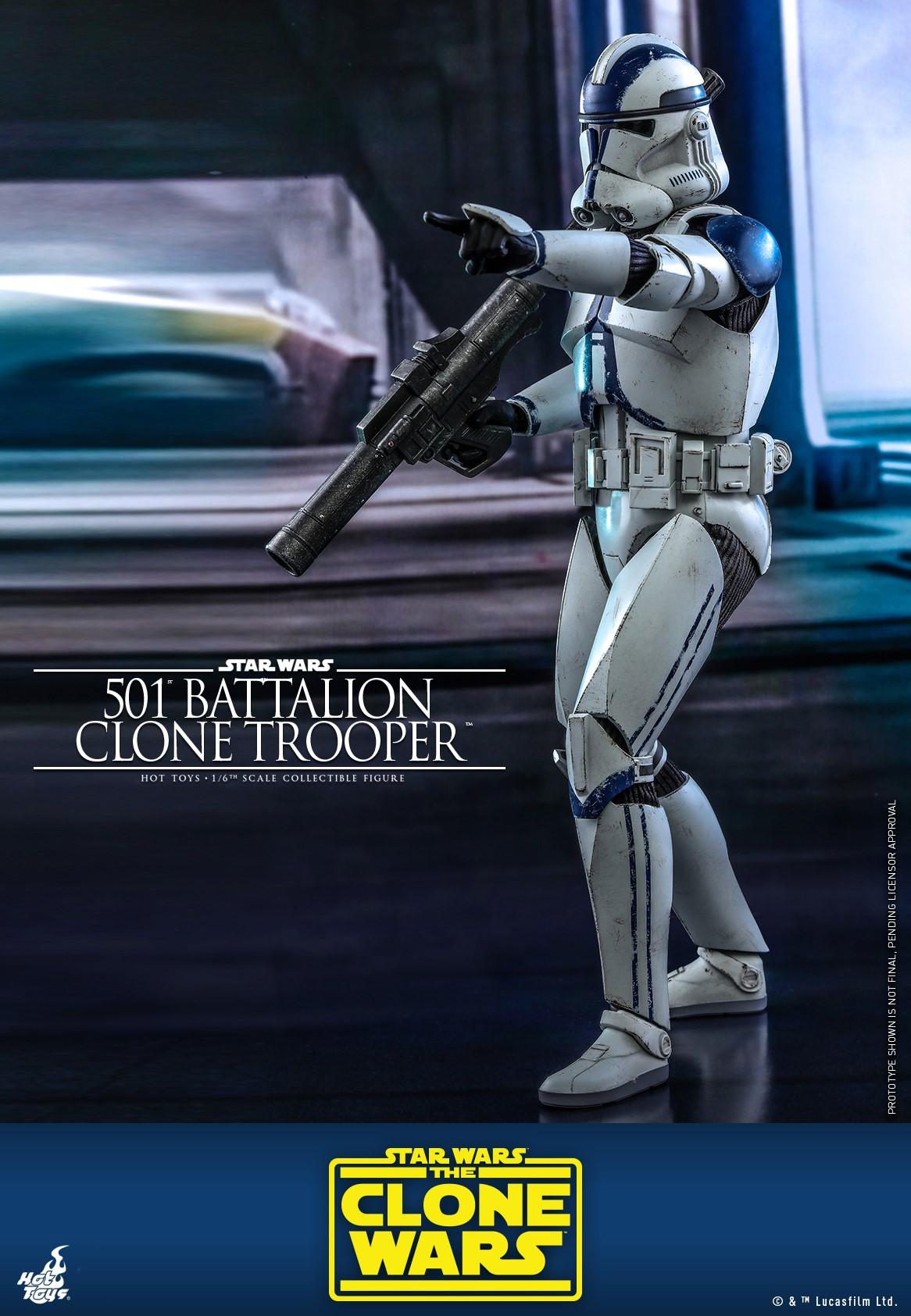 Hot Toys Clone 501 TCW