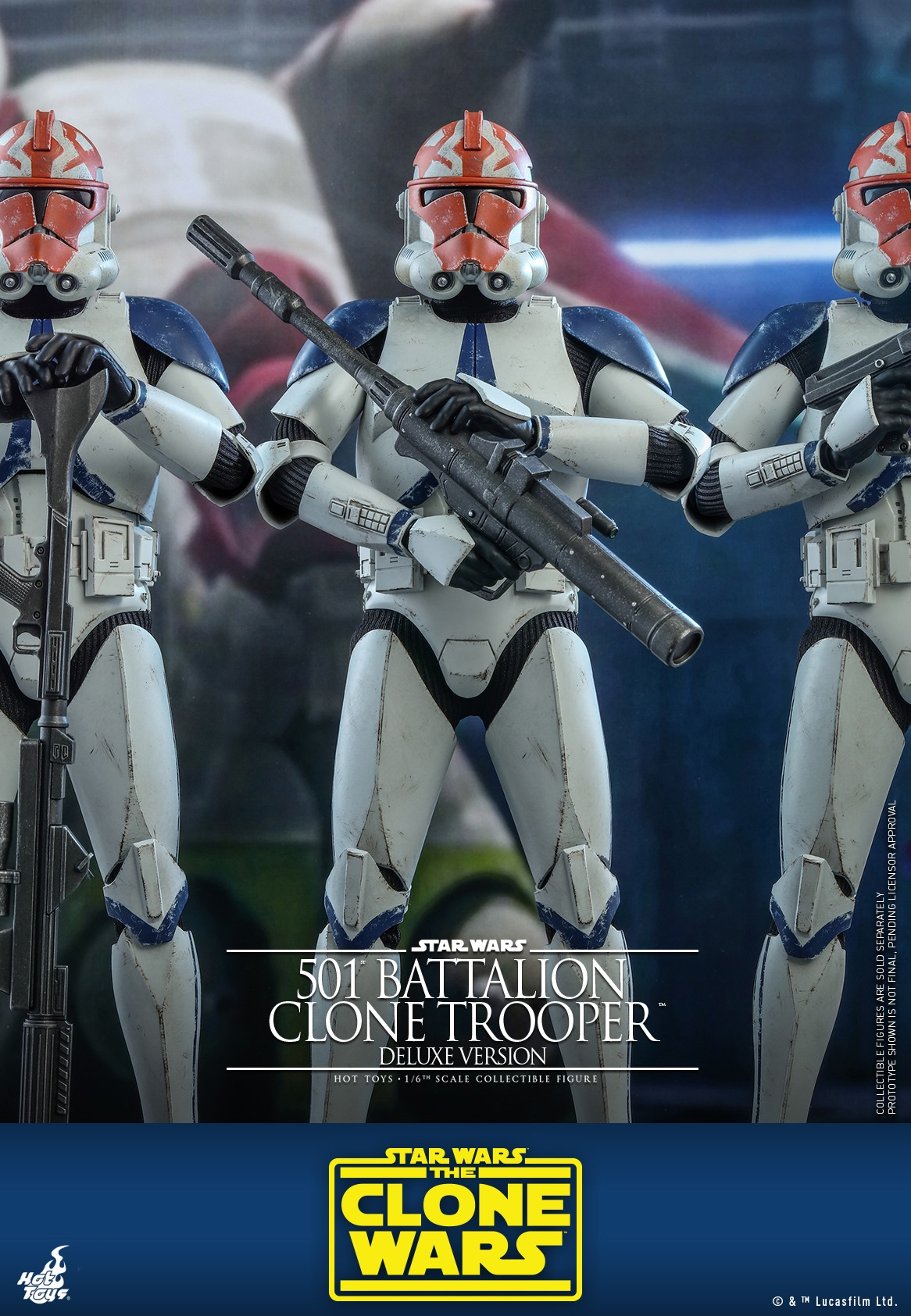 Hot Toys Clone 501 TCW (Deluxe)