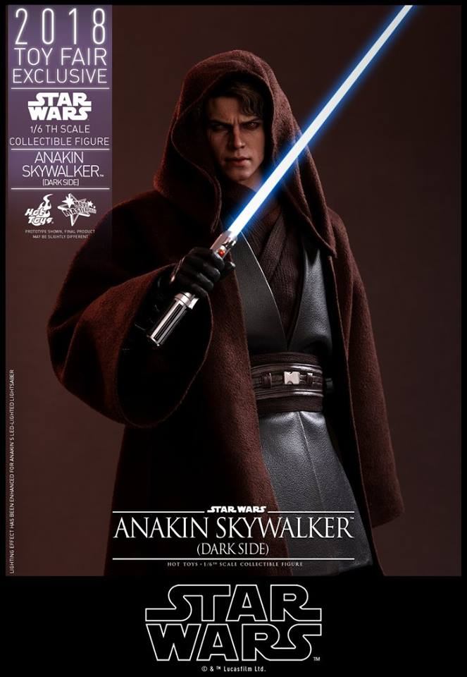 Hot Toys Anakin Skywalker Dark Side 3