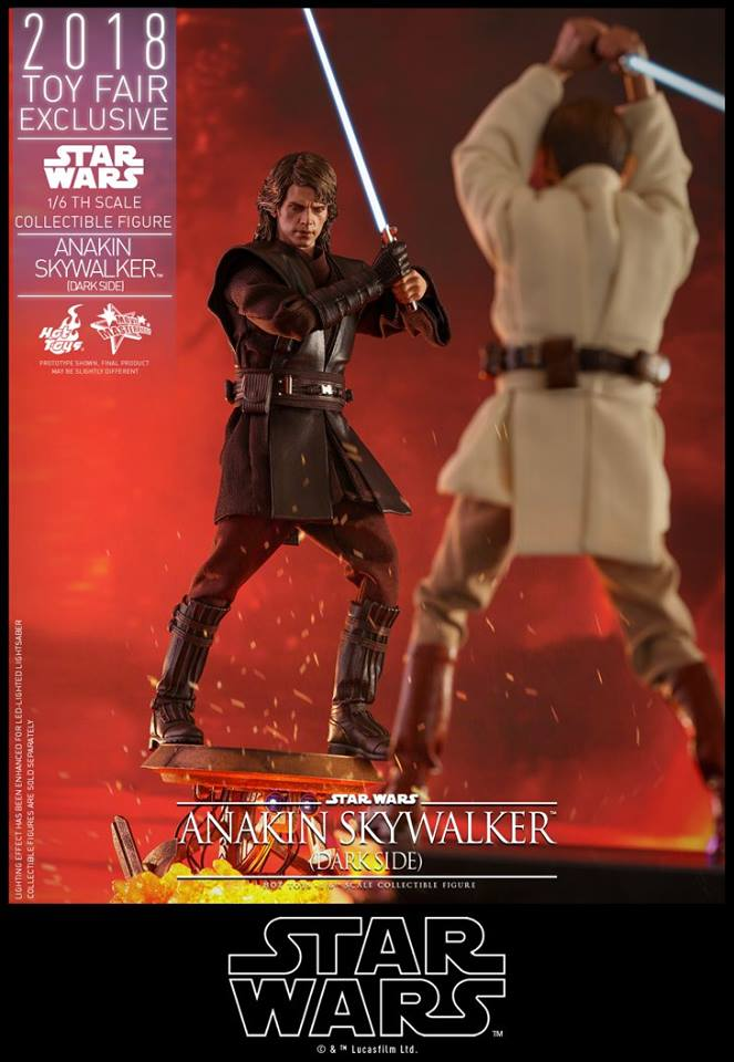 Hot Toys Anakin Skywalker Dark Side 5