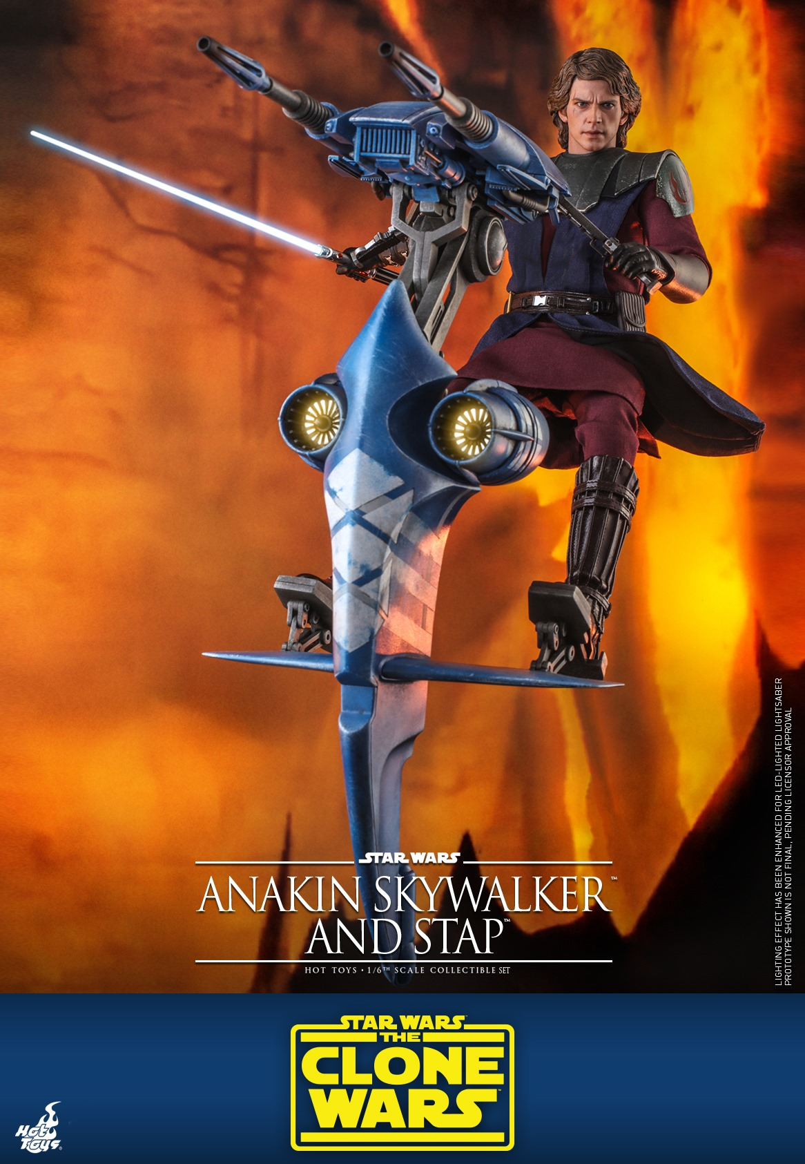 Hot Toys Anakin Skywalker and STAP