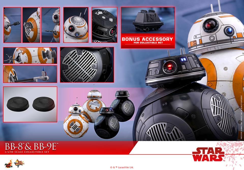 Accessoires BB-8 et BB-9E