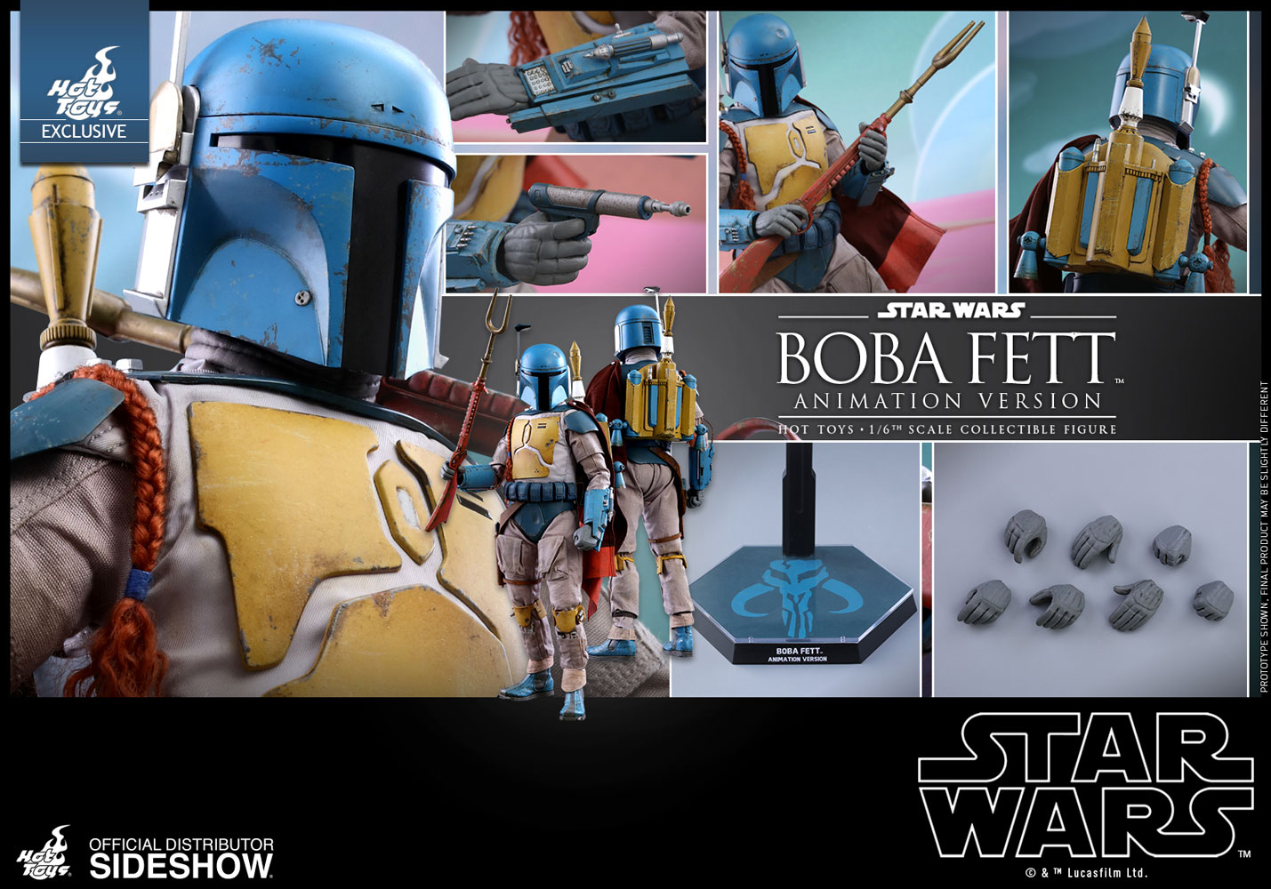 Accessoires Boba Animated