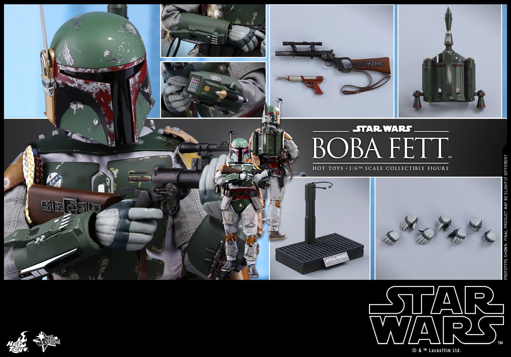 Accessoires Boba ESB