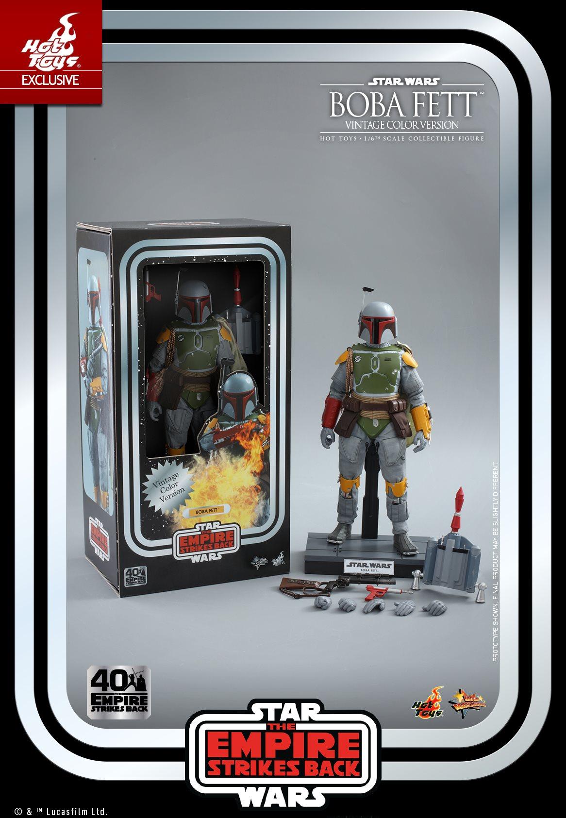 Hot Toys Boba Fett ESB Anniversary