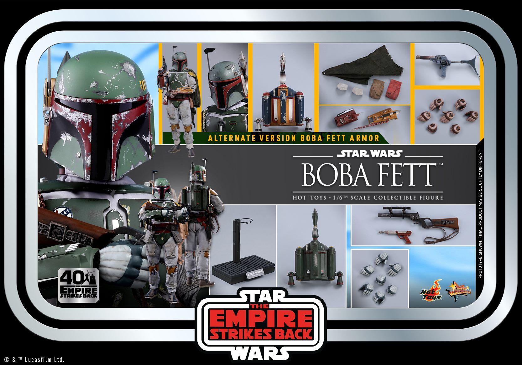 Hot Toys Boba Fett ESB