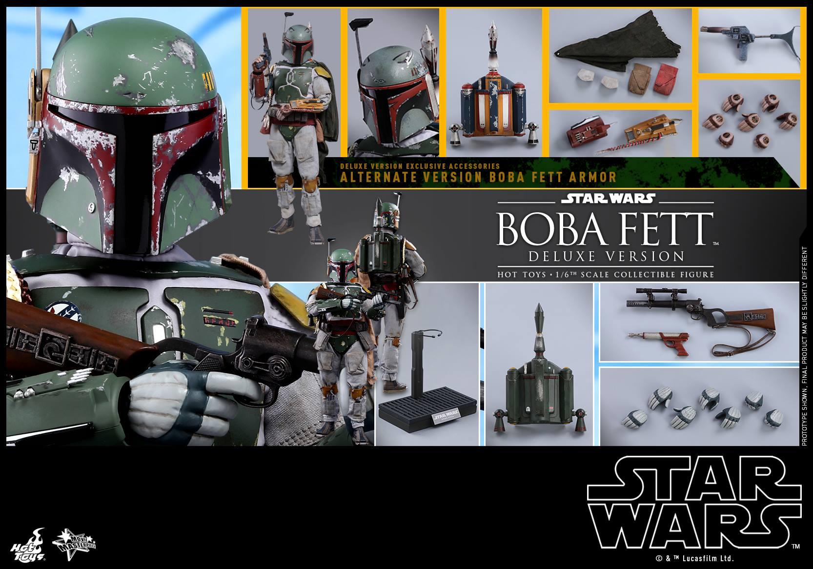 Accessoires Boba ESB Deluxe