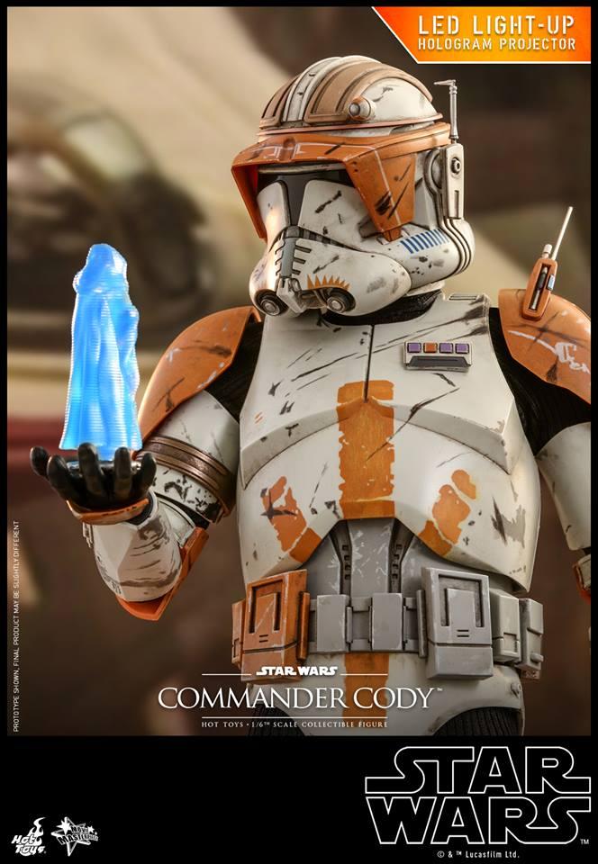 Hot Toys <a href='/jeu-video-115-commander.html' class='qtip_motcle' tt_type='jeu-video' tt_id=115>Commander</a> Cody 1