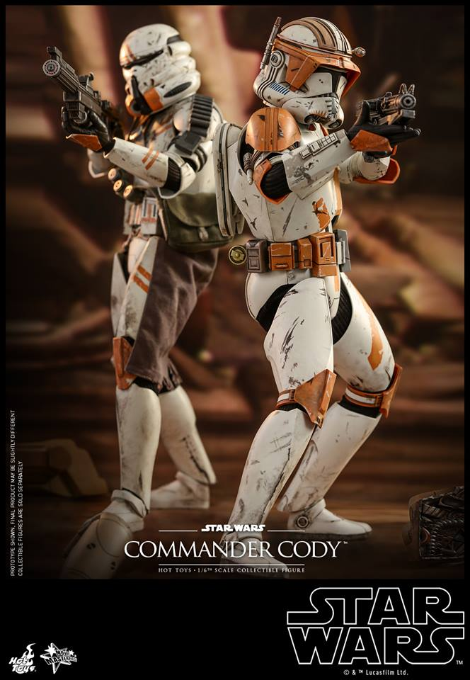 Hot Toys Commander Cody 3