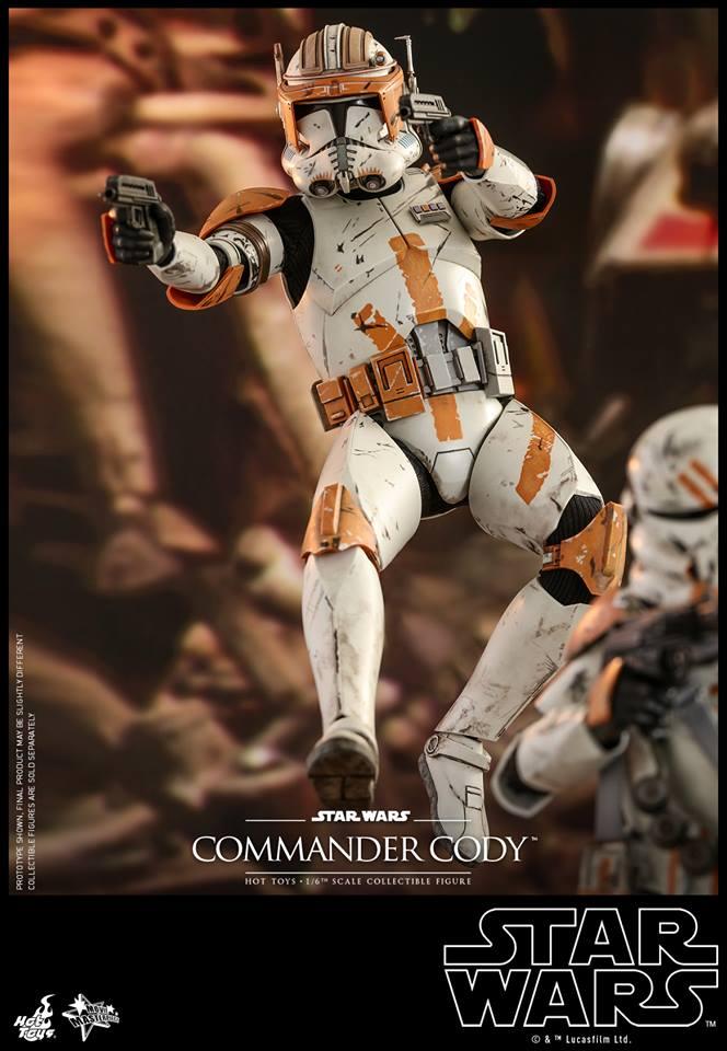Hot Toys Commander Cody 4
