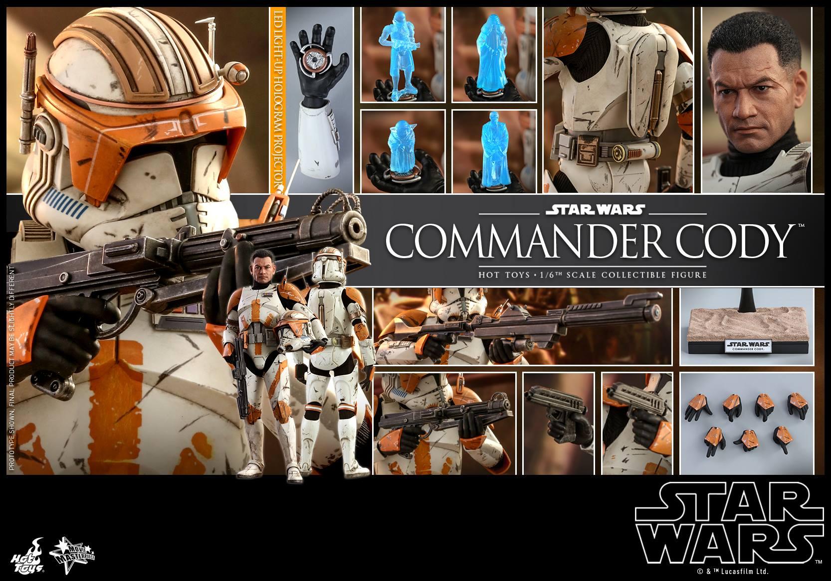 Accessoires Hot Toys Commander Cody