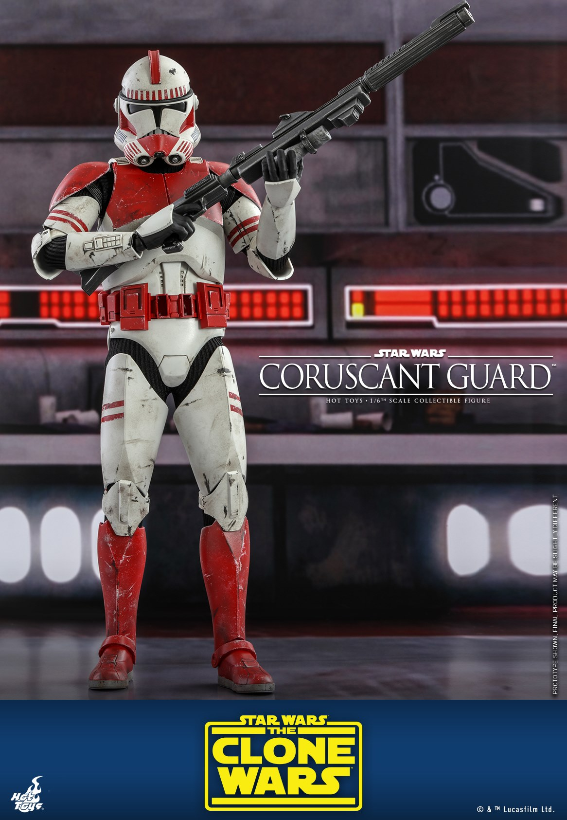 Hot Toys <a href='/organisation-242-coruscant-guard.html' class='qtip_motcle' tt_type='organisation' tt_id=242>Coruscant Guard</a> TCW