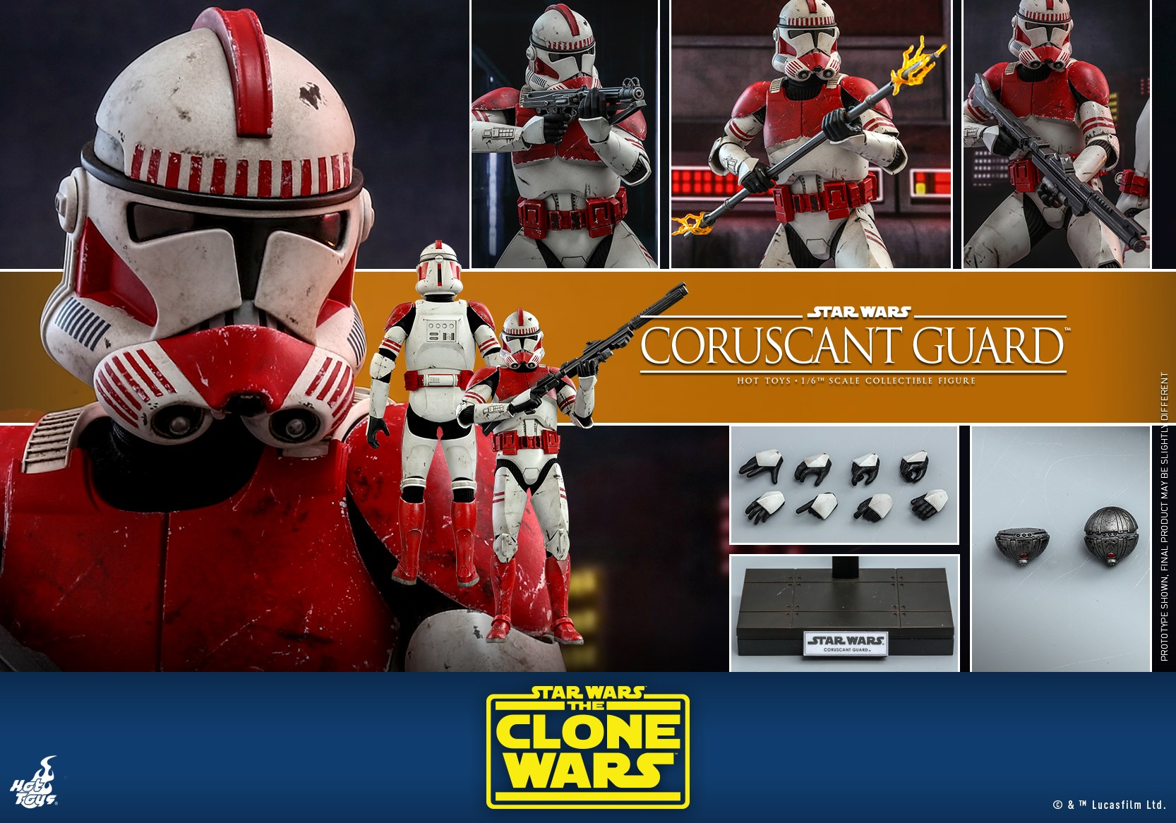 Hot Toys Coruscant Guard TCW