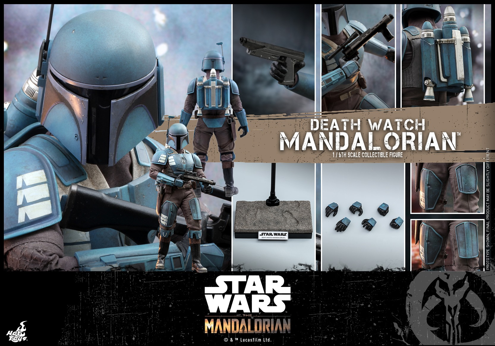 Hot Toys Death Watch Mandalorian