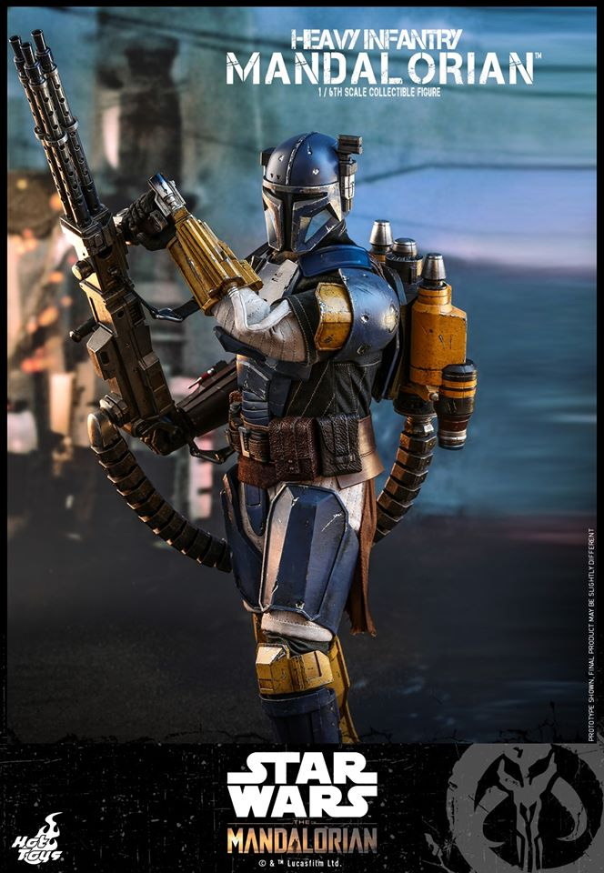 Hot Toys Heavy Infantry Mandalorian