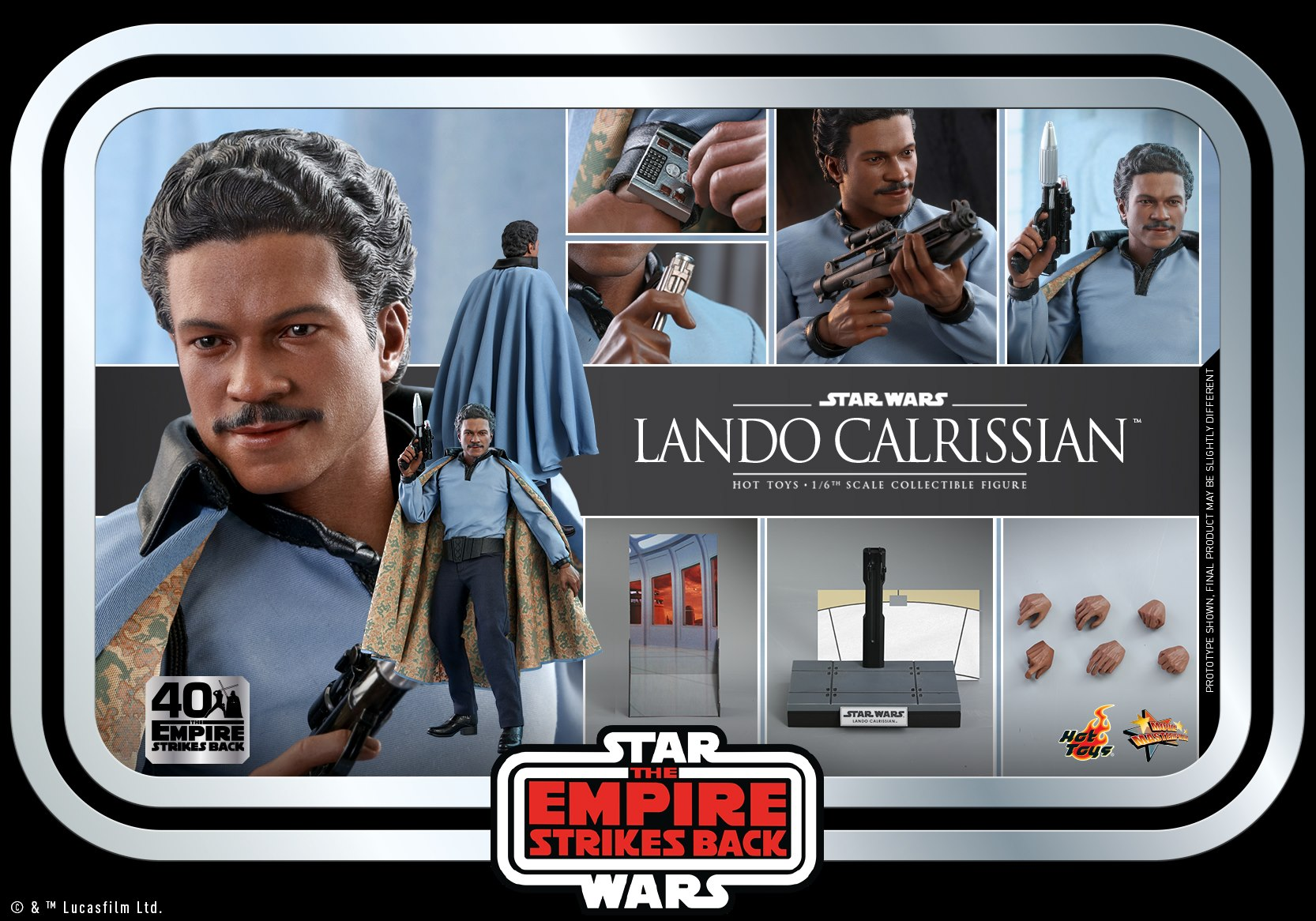Hot Toys Lando Calrissian
