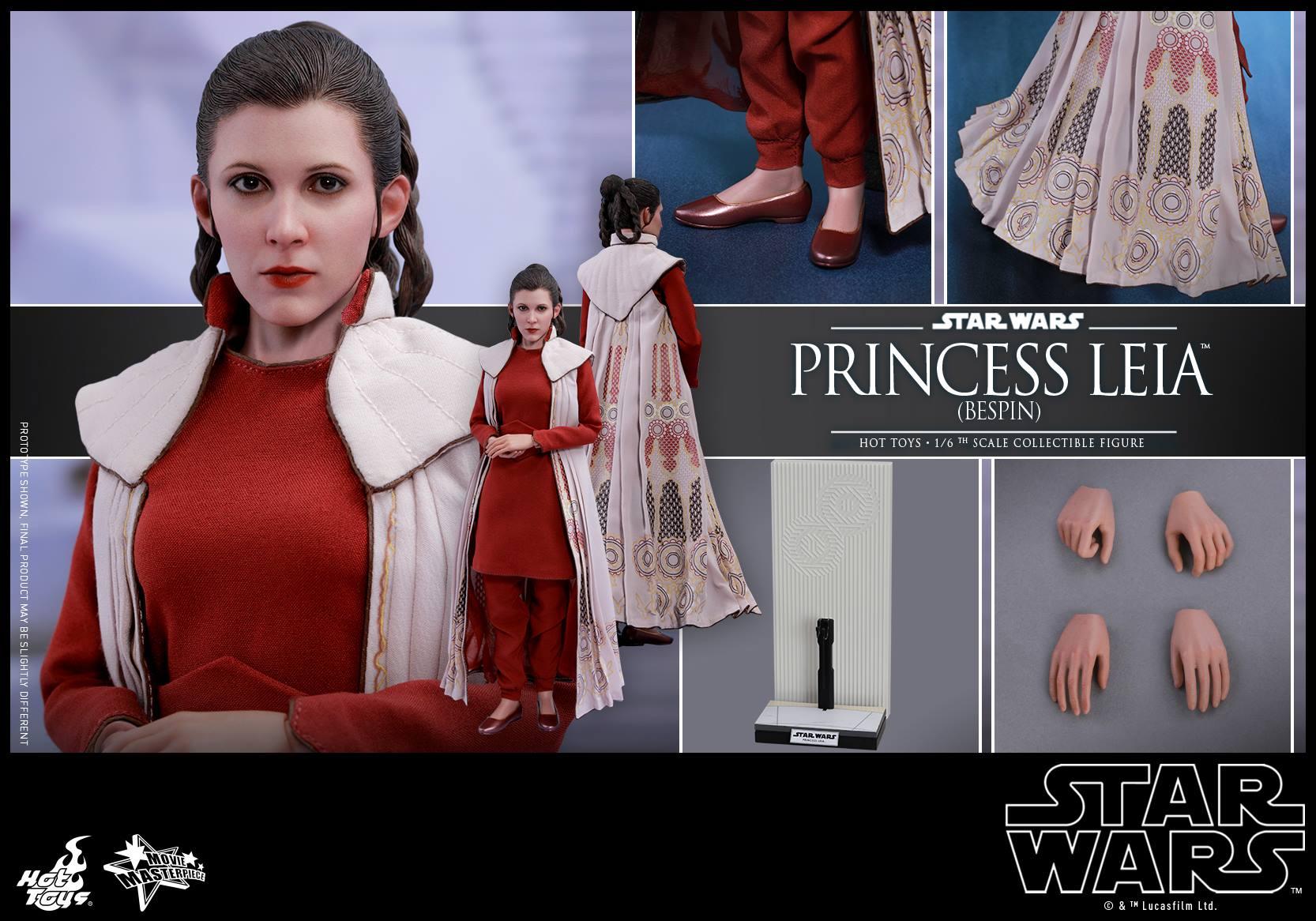 Accessoires Hot Toys Princess Leia Bespin