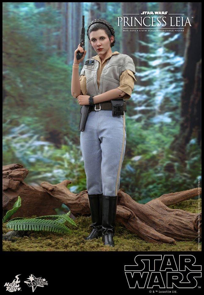 Hot Toys Leia Endor