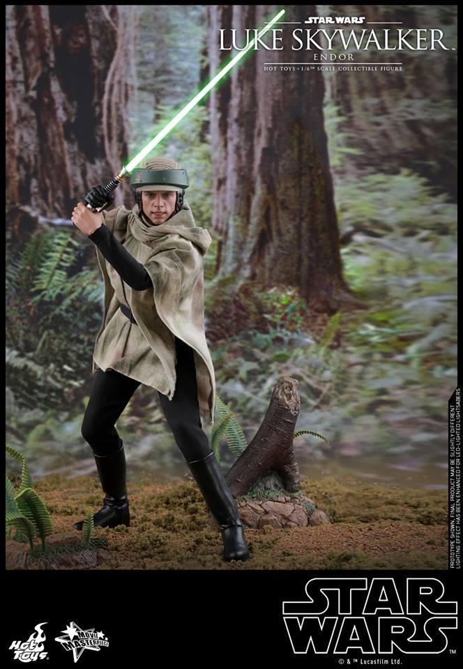 Hot Toys Luke Skywalker Endor 1
