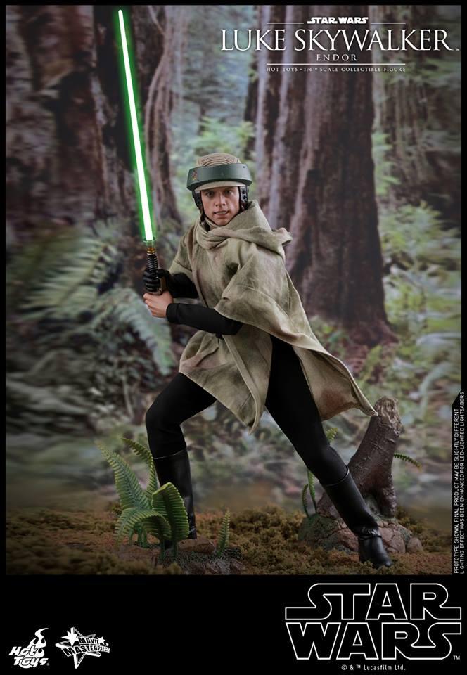 Hot Toys Luke Skywalker Endor 3