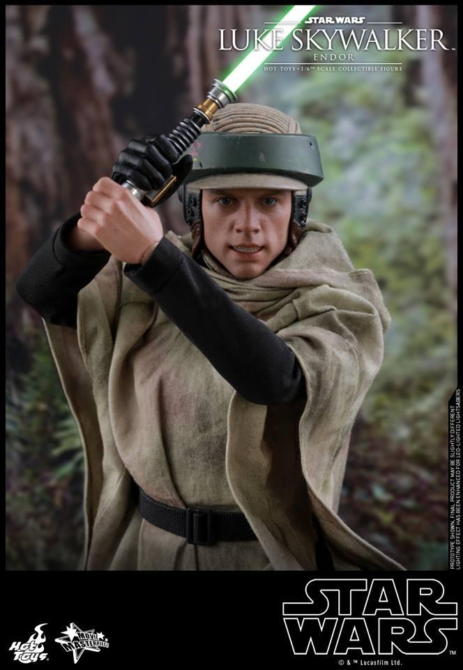 Hot Toys Luke Skywalker Endor 5