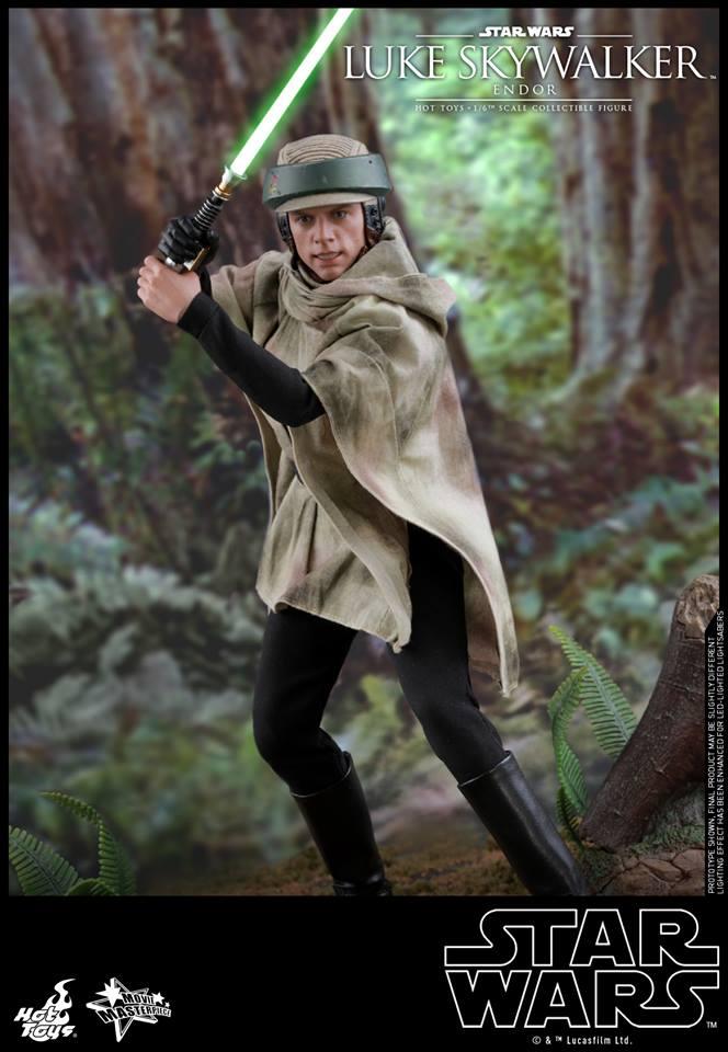Hot Toys Luke Skywalker Endor 6