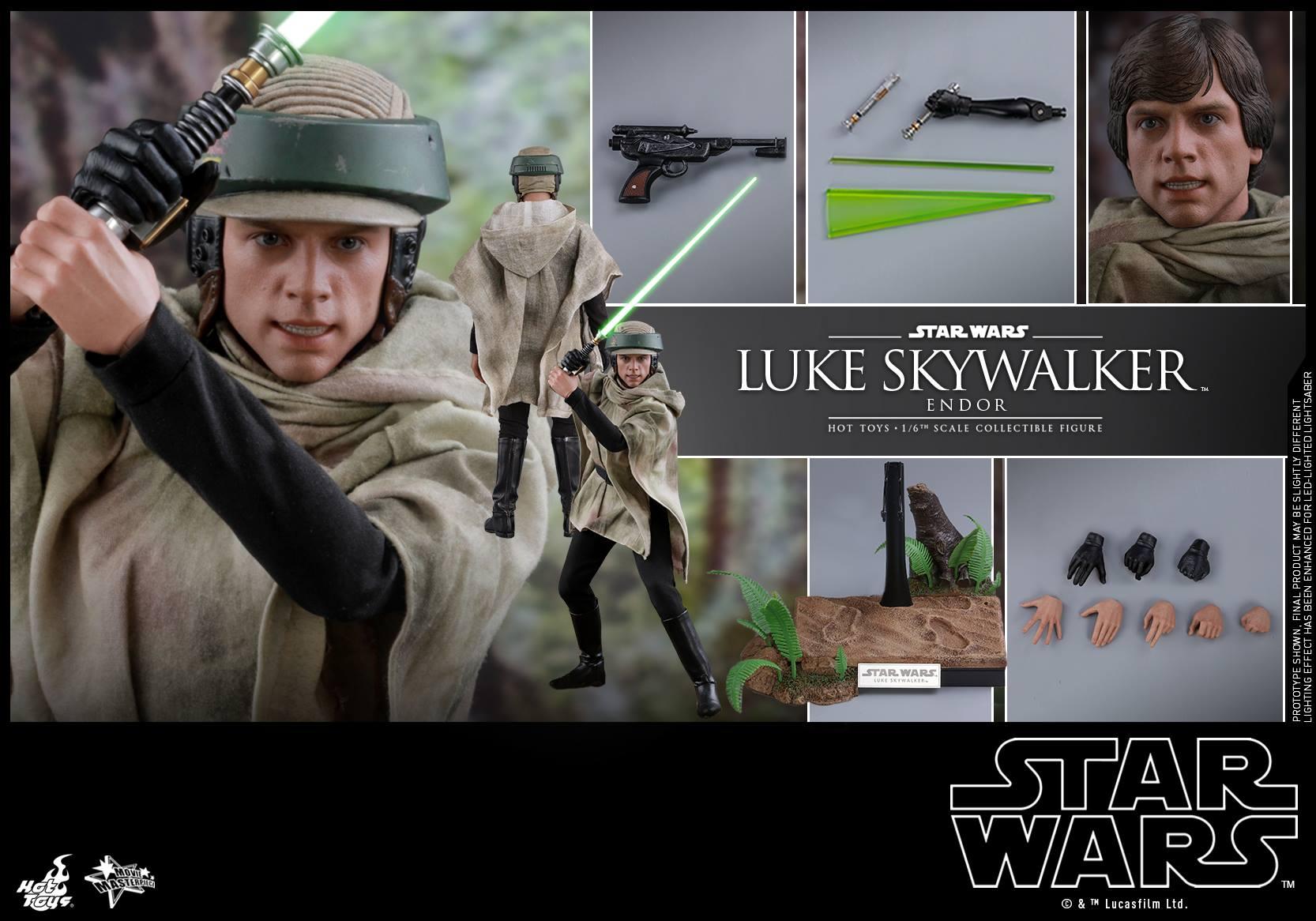 Accessoires Hot Toys Luke Skywalker Endor