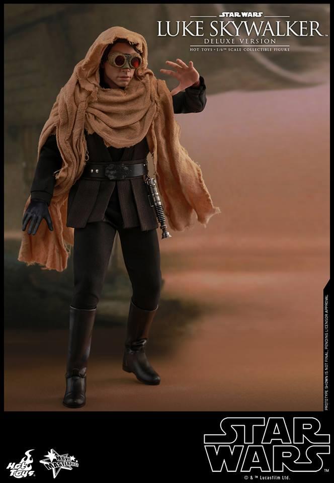 Hot Toys Luke Skywalker Deluxe 3