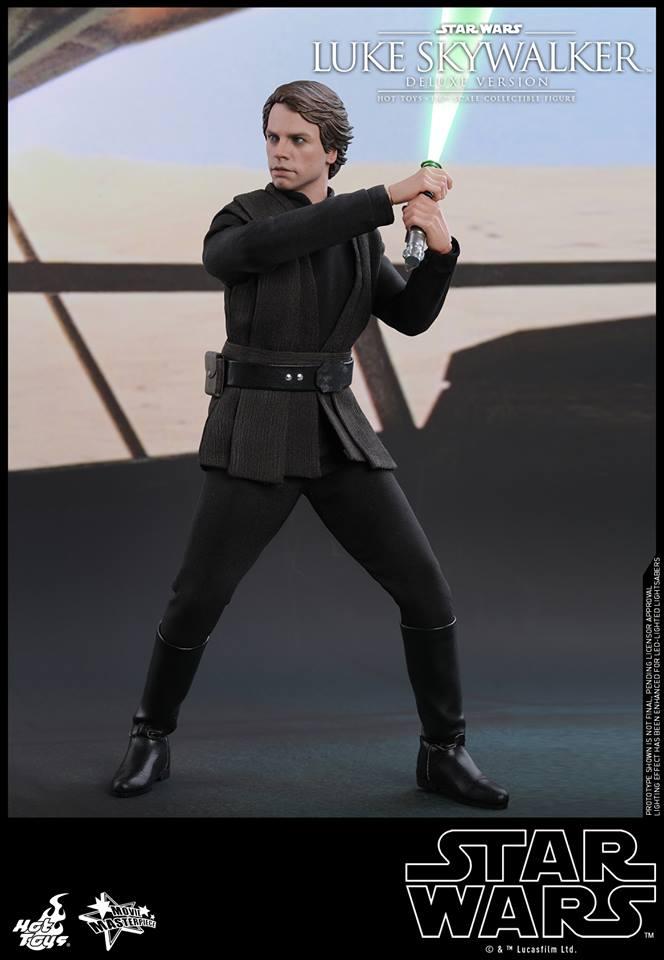 Hot Toys Luke Skywalker Deluxe 4